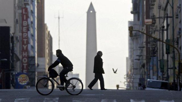 Buenos Aires, foto de archivo.
