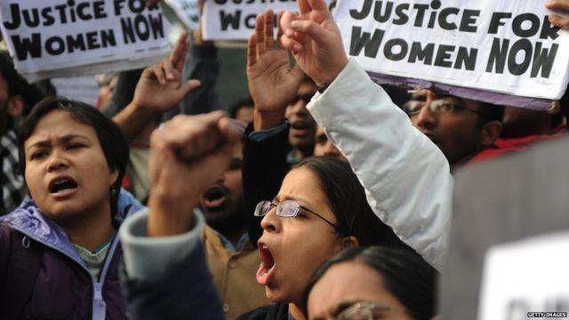 यौन शोषण के खिलाफ प्रदर्शन