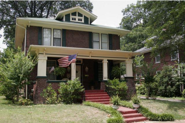 Una de las casas que ofrecía el catálogo de Sears, fotografiada en 2008.