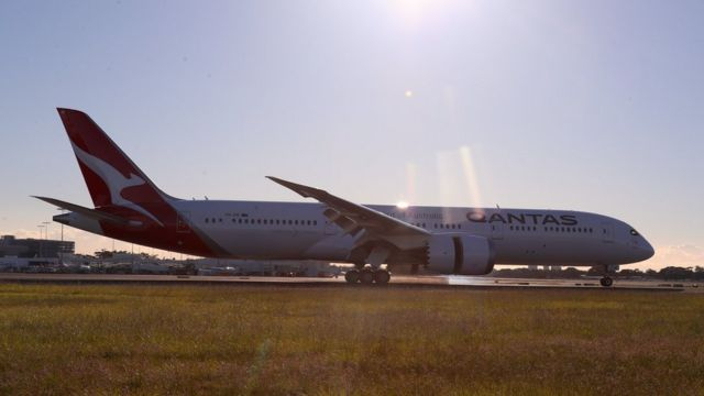 Самый длительный перелет от авиакомпании Quantas