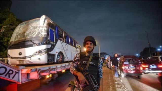 The raids came hours after a tourist bus was hit by a roadside bomb near the Giza pyramids