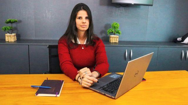A assessora financeira Daniela Casabona