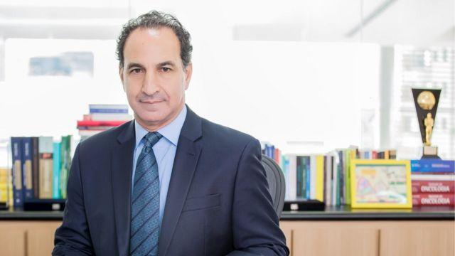 O médico Paulo Chapchap, diretor geral do Hospital Sírio Libanês, em São Paulo