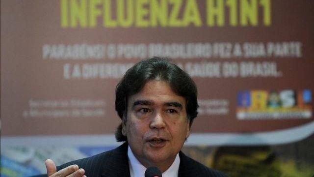 José Gomes Temporão, ex-ministro da Saúde, em 2010