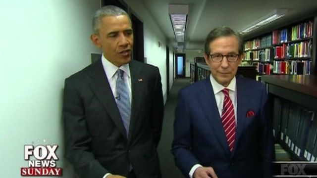 Barack Obama na Chris Wallace