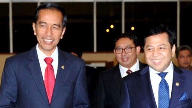 Jokowi dan Setya Novanto