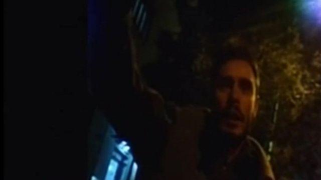 لقطة لريجيني من مقطع الفيديو