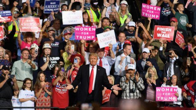 Donald Trump en Virginia Occidental