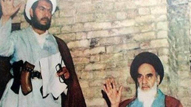 غلام رضا حسنی از معدود افرادی است که با سلاح به دیدار آیت الله خمینی رفت