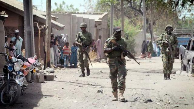 """""""Gaidam Boko Haram attack"""" update: [Nigerian Army, Air Force stop attack for Yobe]"""