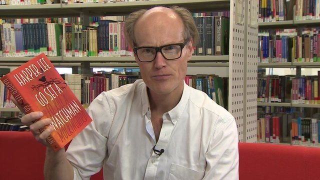 Will Gompertz with Go Set a Watchman