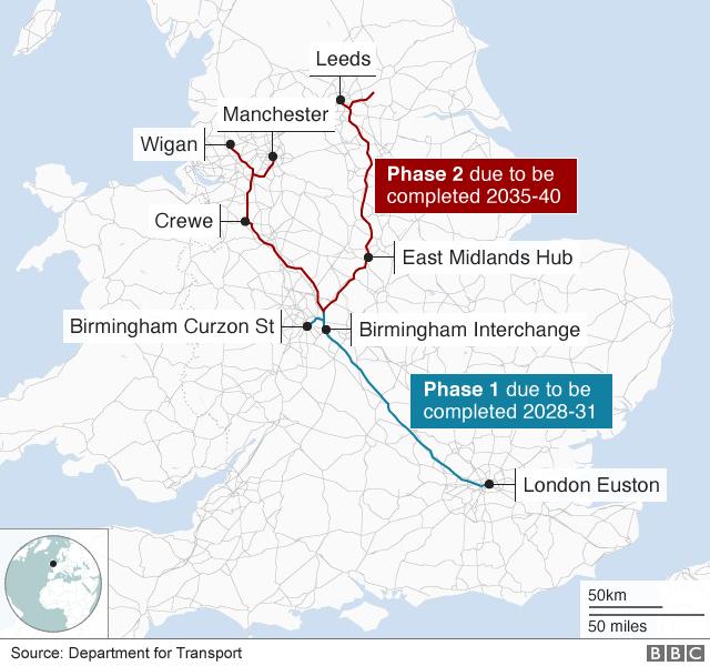 HS2 route