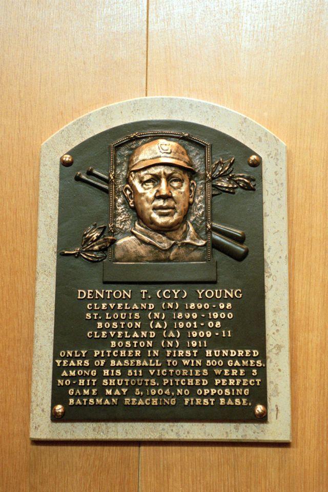 Placa de Cy Young