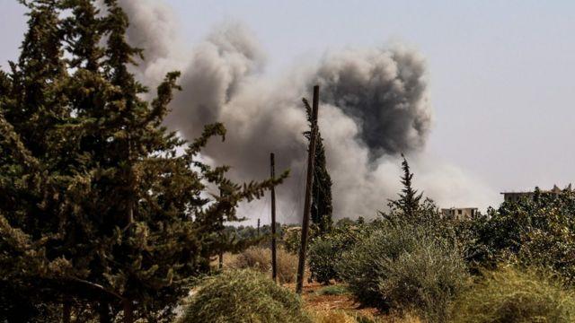 القوات السورية بدأت منذ أيام قصفا متقطعا لمناطق المسلحين