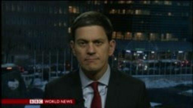 David Miliband, President of IRC, addresses migrant crisis
