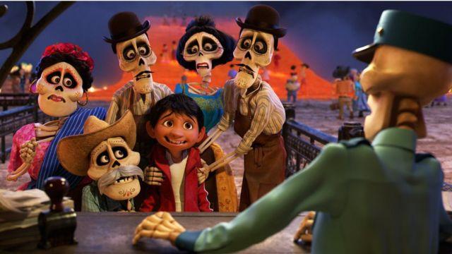 """Image from the Disney Pixar film """"Coco"""" (Photo: Disney Pixar)"""