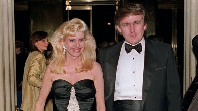 Donald və Ivana Trump (4 dekabr 1989)