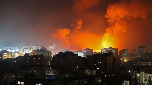 Gazze'de hava saldırısı