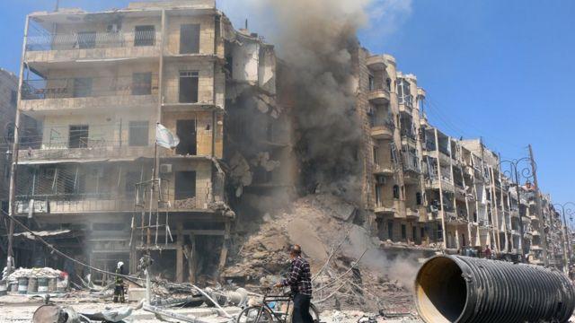 Uburusiya bwagirije Turkiya gufasha abo bwita abakozi b'iterabwoba muri Syria