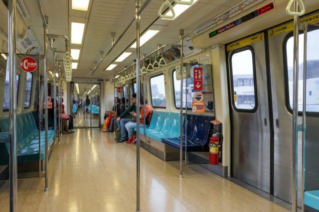 台北捷运几乎延伸至城市的每一个角落,居民出行便利。