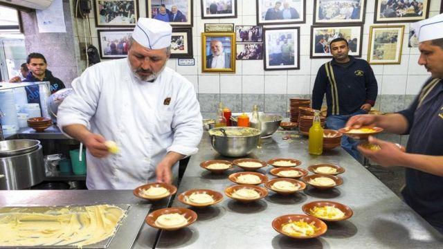 Restaurante de humus