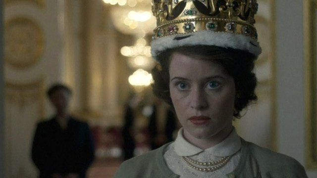Scene from The Crown, Netflix