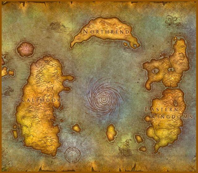 월드 오브 워크래프트 세계