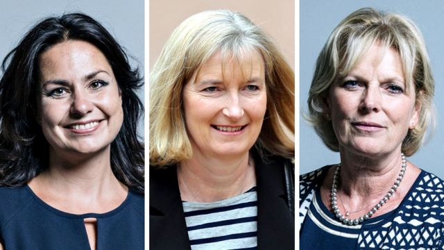 Heidi Allen, Sarah Wollaston and Anna Soubry