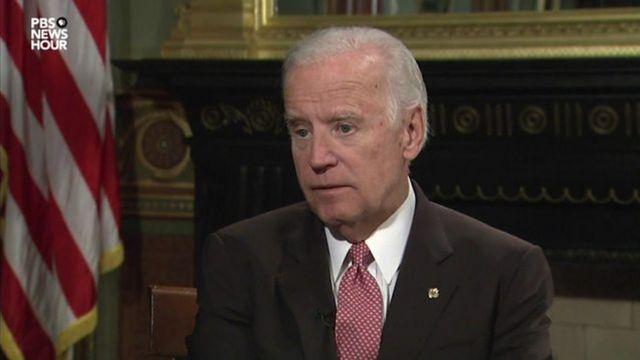 Russian hacking claims: Joe Biden tells Trump to 'grow up'