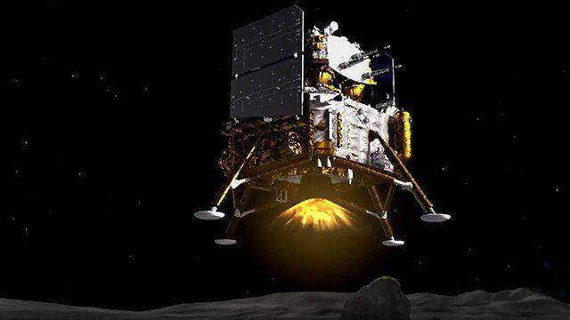 藝術作品:此次任務計劃將收集2公斤重的月球表面物質。