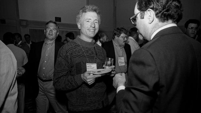 Ларри Теслер в 1991 году