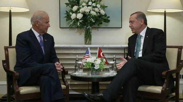 Biden ve Erdoğan, Eylül 2014