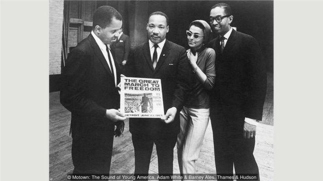 摩城将马丁·路德·金1963年6月23日在底特律自由集会上的演讲制成了专辑发行。