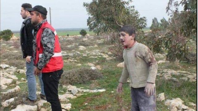 بعض الجرحى نتيجة القصف التركي على أطراف مدينة عفرين