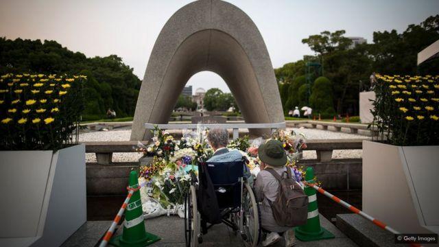 Buri mwaka i Hiroshima bibuka uko uyu mujyi warekuriweho bombe kirimbuzi igahitana abantu barenga 135,000