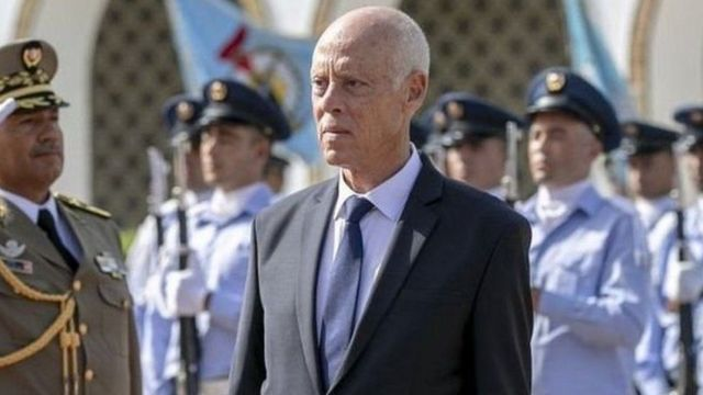 رئيس تونس قيس سعيد