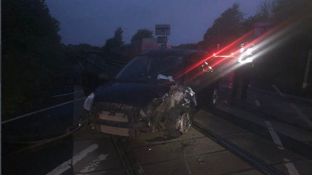 Drink-driver Thomas Dixon sentenced after rail line crash