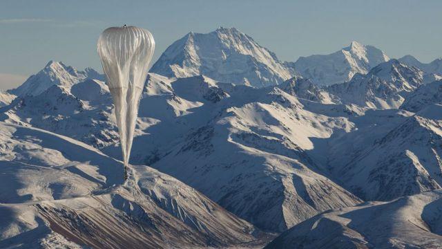 Balão do Projeto Loon