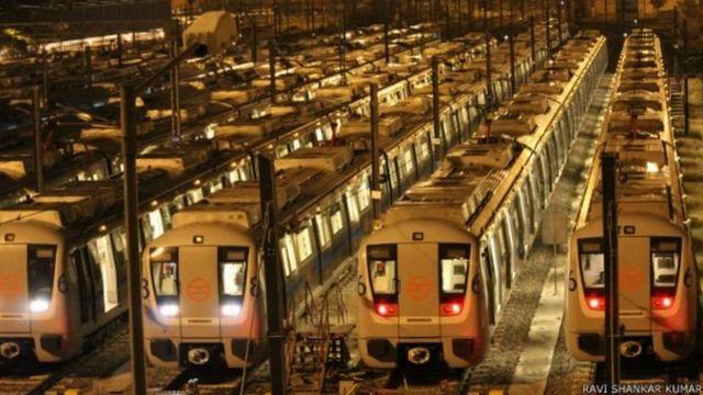 मेट्रो ट्रेन