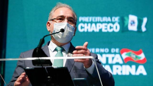 O médico Marcelo Queiroga, ministro da saúde