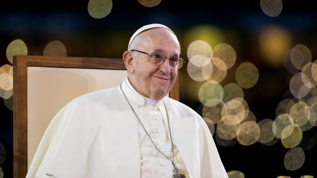 Папа римский на фестивале в Кроук-парке