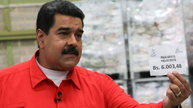Prezident Nikolas Maduro yeni layhiəni hətəlik televiziya proqraminda bəyan edib