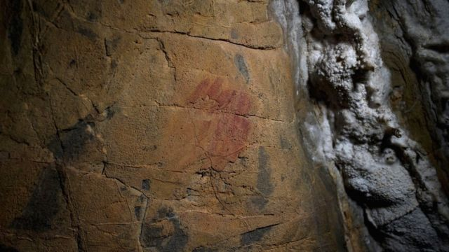 Some red pigments are thought to have been created by Neanderthals about 65,000 years ago.
