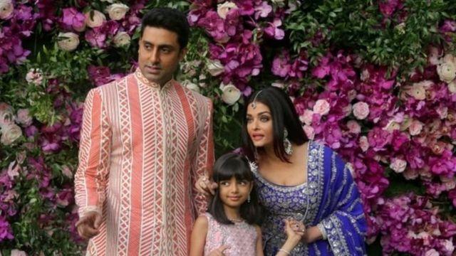 Abhishek, Aishwarya iyo gabadhooda 8 sano jirka ah ayaa dhammaantood laga helay fayraska Covid-19
