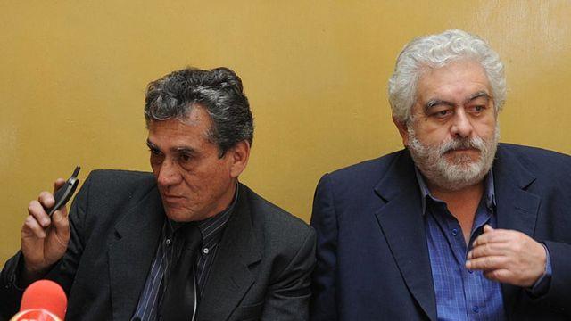 Alfredo Crespo y Manuel Fajardo en 2009