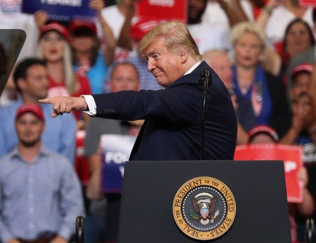 美國大選:從特朗普佛州造勢看2020選情走勢- BBC News 中文
