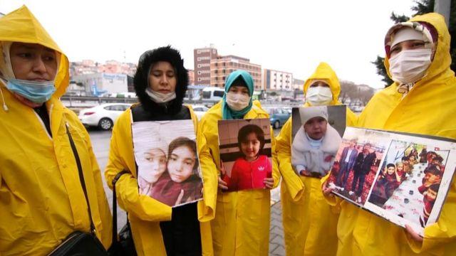 Kalbinur, Çin'in sessizliğine tepki için İstanbul'dan Ankara'ya 400 kilometrelik bir yürüyüş organize etti