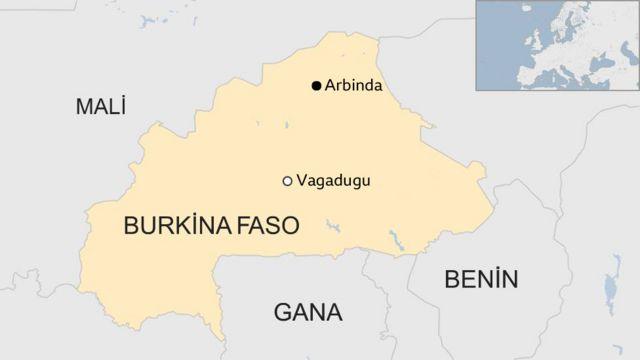 Batı Afrika ülkesi Burkina Faso