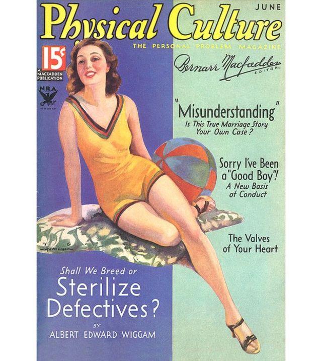"""Revista de principios del siglo XX con un artículo titulado """"Debemos reproducir o esterilizar a los defectuosos"""""""