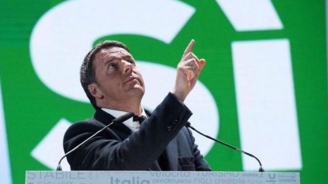 Mr Renzi ya ce zau sauka daga kan mulki matukar ya sha kaye a zaben raba gardamar